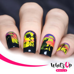 Whats Up Nails - P037 Deadly Night Water Decals