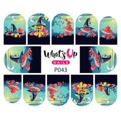 Whats Up Nails - P043 It's All An Illusion Water Decals