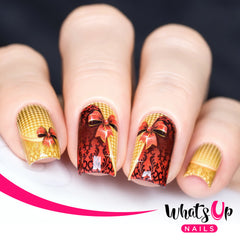 Whats Up Nails - P053 That's a Wrap Water Decals
