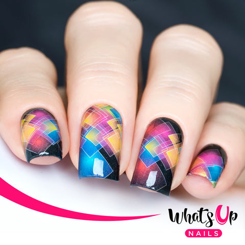 Whats Up Nails - P055 Square-tastic Water Decals