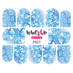 Whats Up Nails - P057 Cube Appeal Water Decals