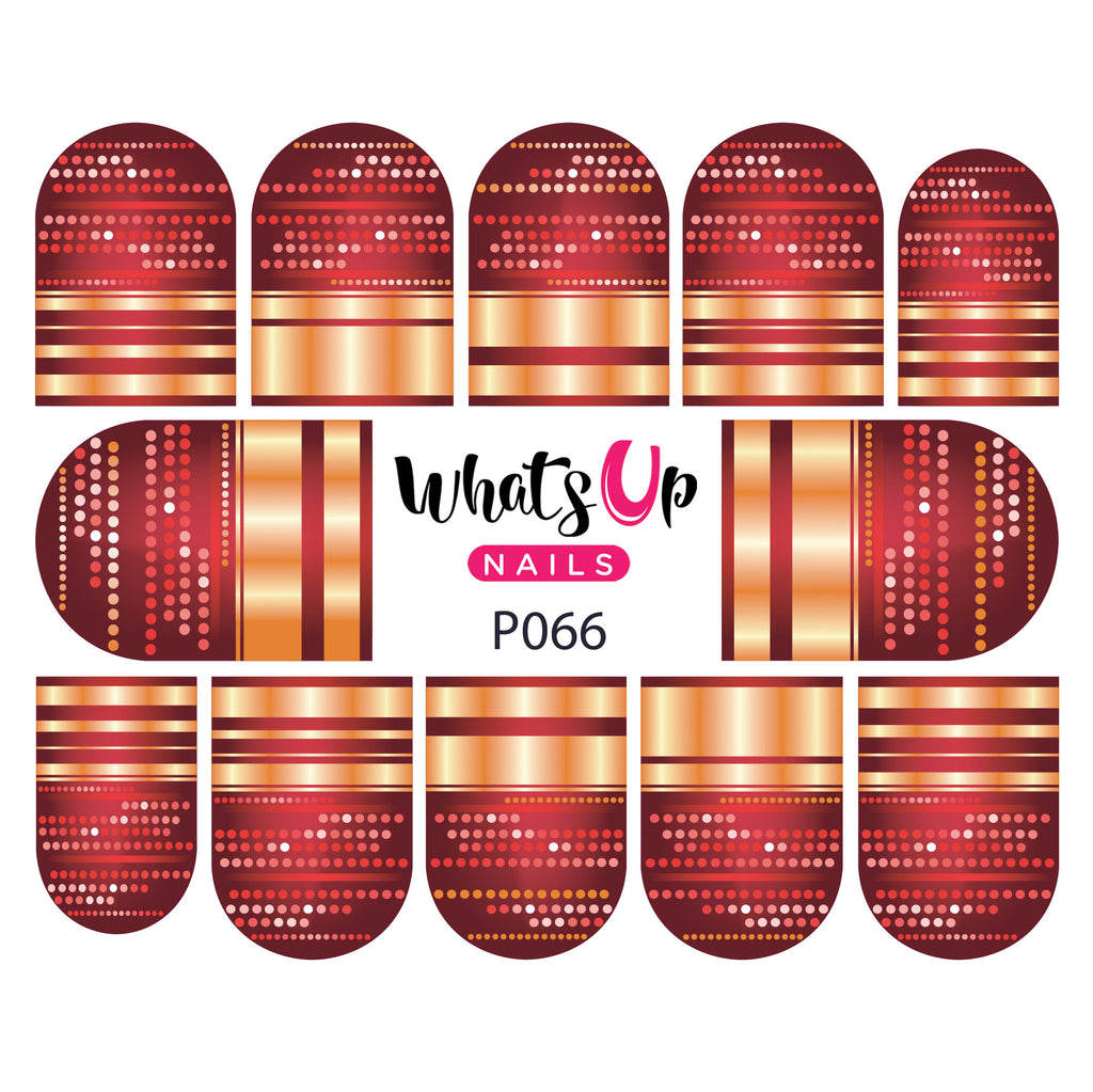 Whats Up Nails - P066 Disco Dots Water Decals
