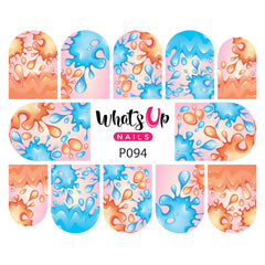 Whats Up Nails - P094 Splat Attack Water Decals