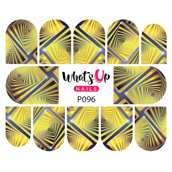 Whats Up Nails - P096 Endless Illusion Water Decals