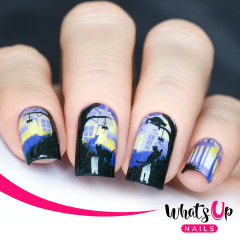 Whats Up Nails - P101 Night Hunter Water Decals