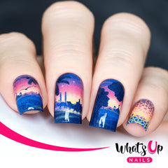 Whats Up Nails - P104 Arabian Desert Water Decals