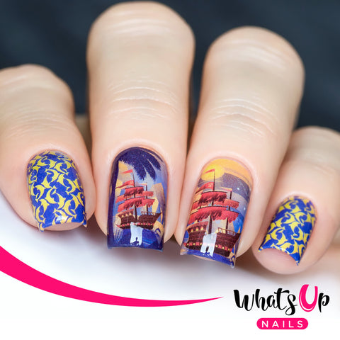 Whats Up Nails - P112 Let's Sea the World Water Decals