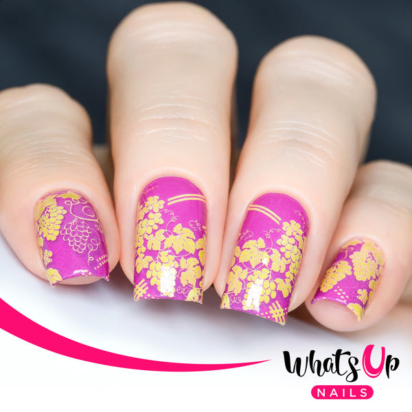 Whats Up Nails - P114 Grape Wine Water Decals