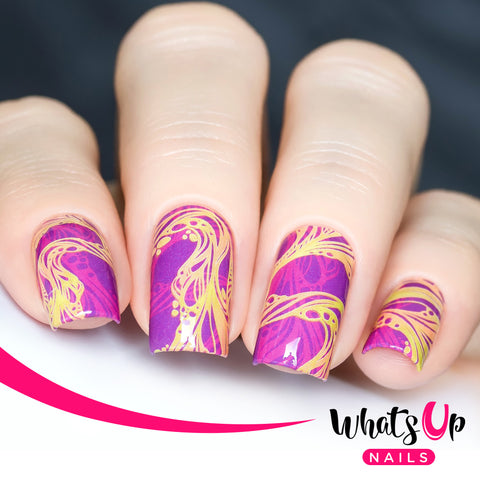 Whats Up Nails - P116 Lavalicious Water Decals