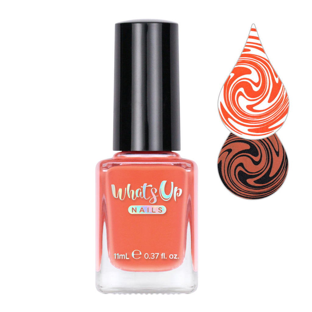 Whats Up Nails - Pumpkin a Day Stamping Polish