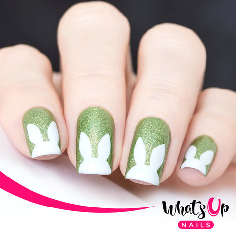 Whats Up Nails - Rabbit Ears Stencils