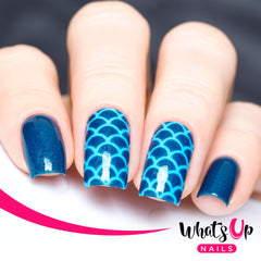 Whats Up Nails - Scales Stencils