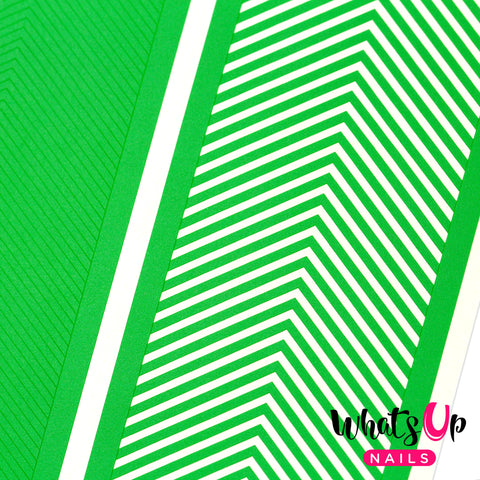 Whats Up Nails - Skinny Chevron Tape