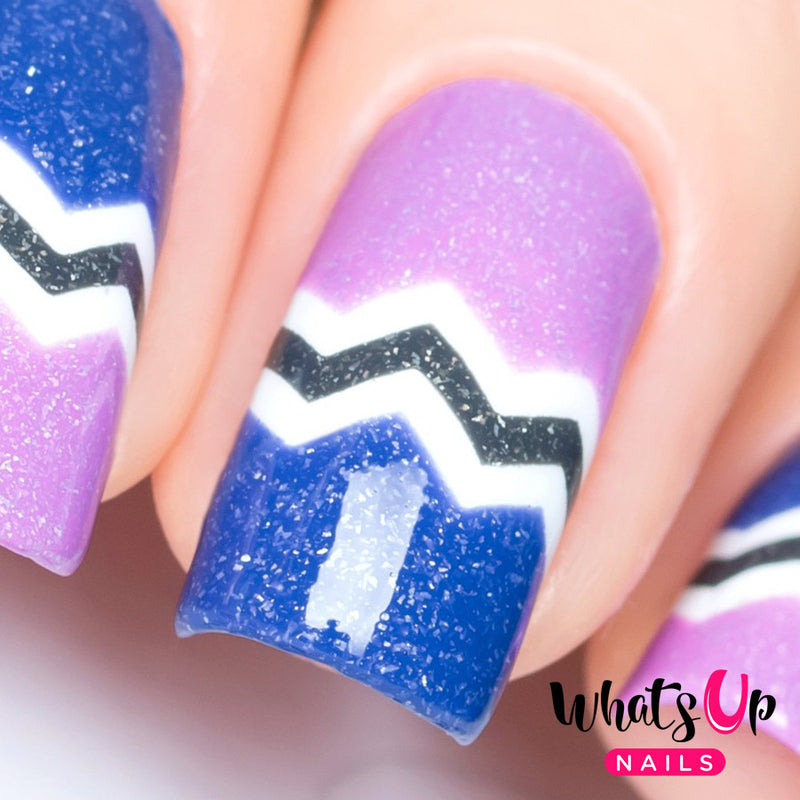 Whats Up Nails - Skinny Zig Zag Tape