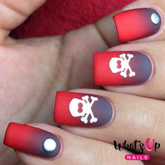 Whats Up Nails - Skull Stencils (Discontinued)