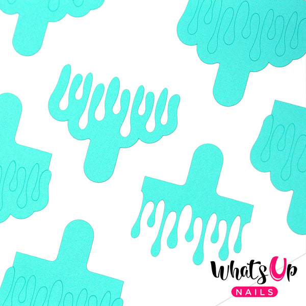 Whats Up Nails - Slime Drips Stencils