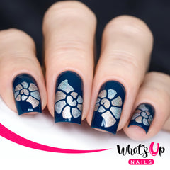 Whats Up Nails - Snail Shell Stencils