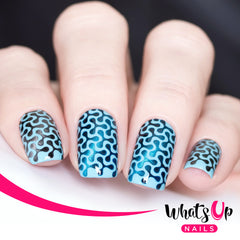 Whats Up Nails - Spinner Stencils