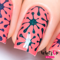 Whats Up Nails - Splatters Stencils