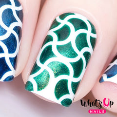 Whats Up Nails - Squiggles Stencils