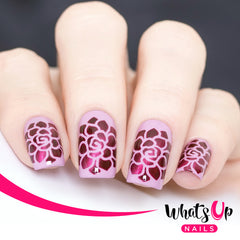 Whats Up Nails - Succulent Stencils