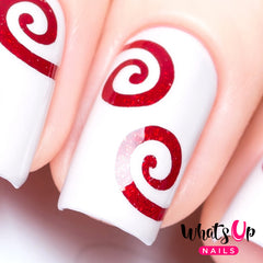 Whats Up Nails - Swirl Stencils