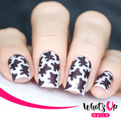 Whats Up Nails - Teddy Bears Stencils