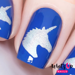 Whats Up Nails - Unicorn Head Stencils