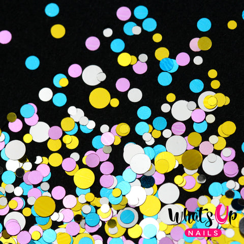 Whats Up Nails - Wedding Cake Confetti