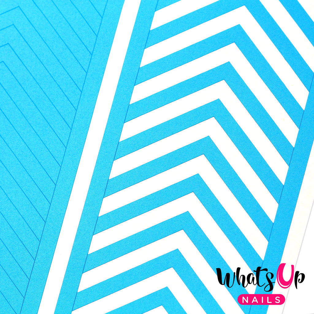 Whats Up Nails - Wide Chevron Tape
