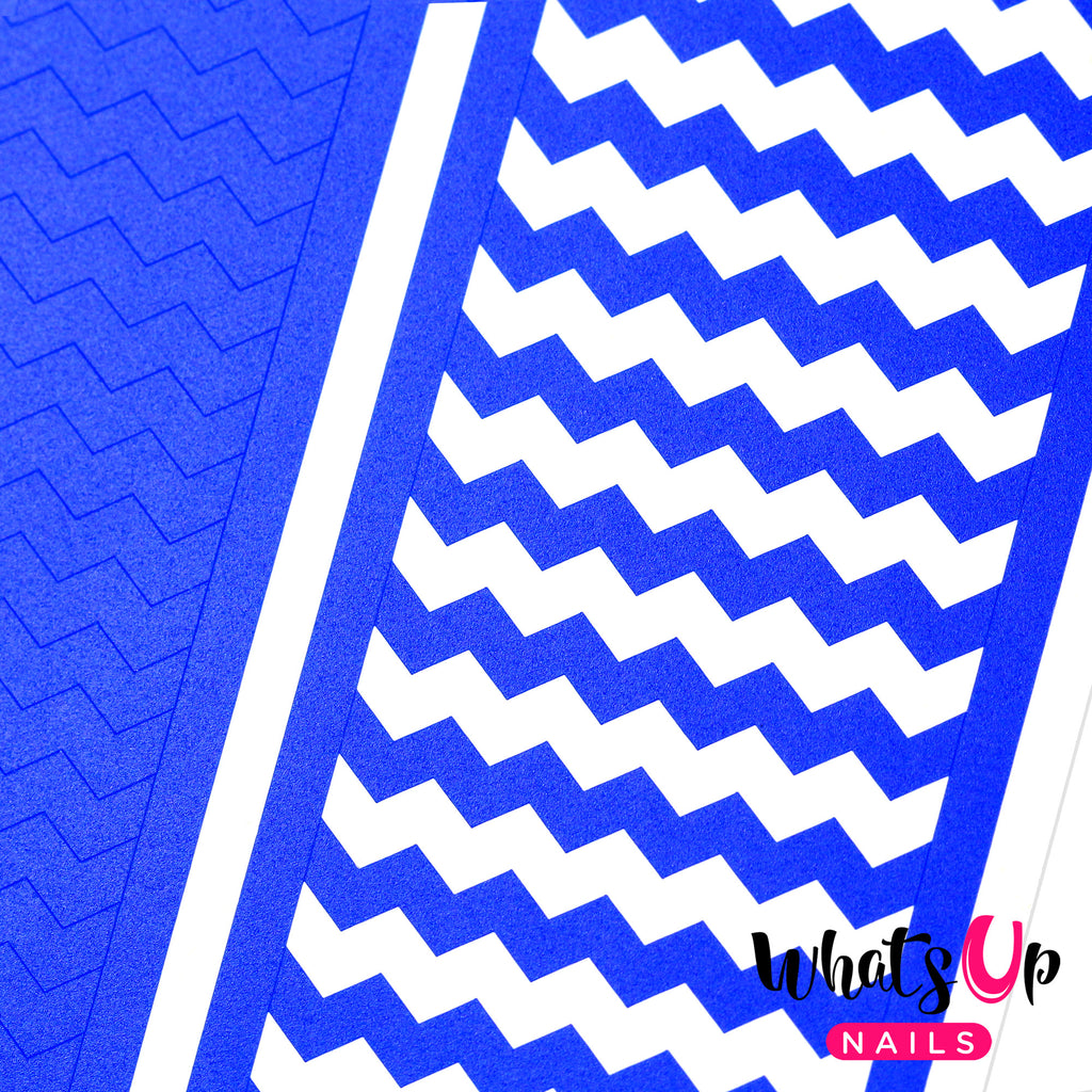 Wide Zig Zag Nail Guide Tape Whats Up Nails