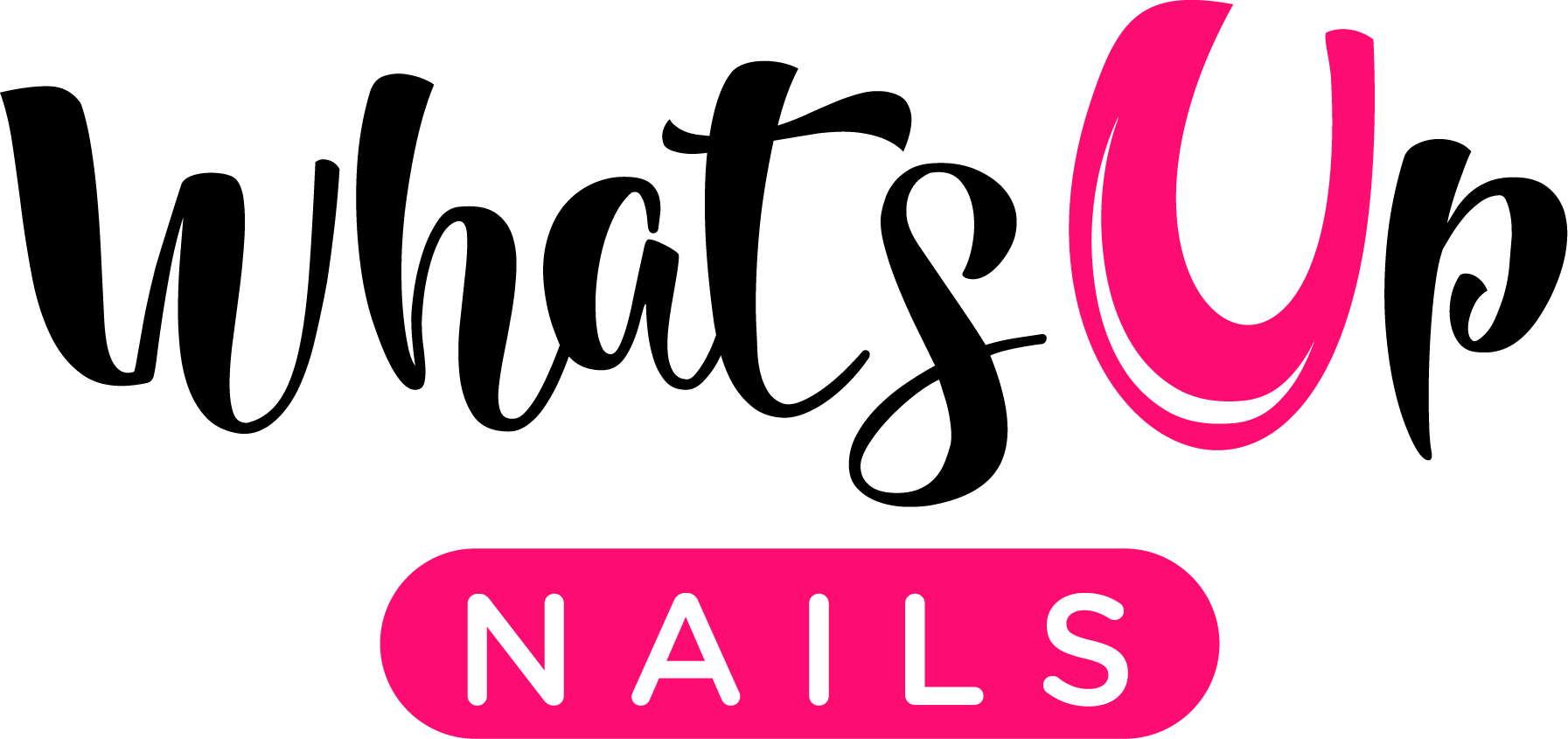 Whats Up Nails logo