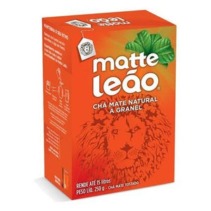Matte Leao Toasted Tea Box | Cha Mate Leao Caixa