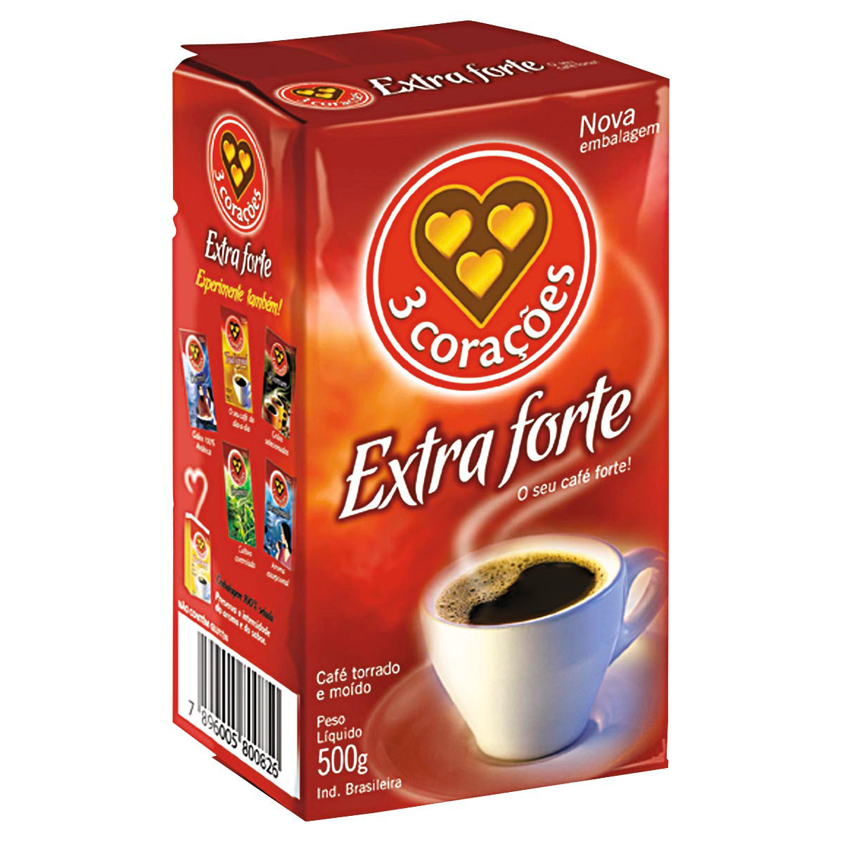 Coffee - 3 Coracoes 500g | Cafe 3 Coracoes  500g