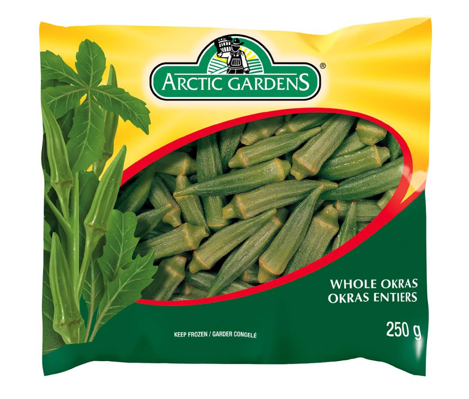 Artic Gardens Whole Okras 250g / Quiabo Inteiro Congelado 250g