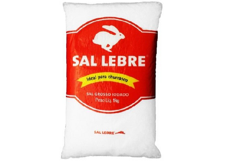 Barbecue Coarse Salt | Sal Grosso Churrasco