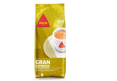 Delta Gold Roasted Whole Beans Espresso 1Kg| Cafe Delta Gold Graos Inteiros Espresso 1Kg
