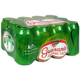 Guarana Antarctica (12 pack) + Bottle Deposit| Guarana Antarctica (12 latas)