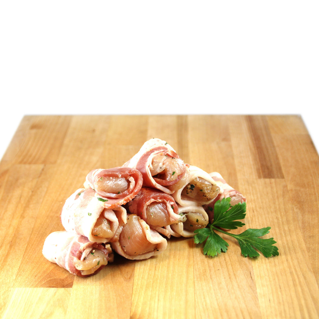 Chicken wrapped with bacon - Frango com Bacon 500gr