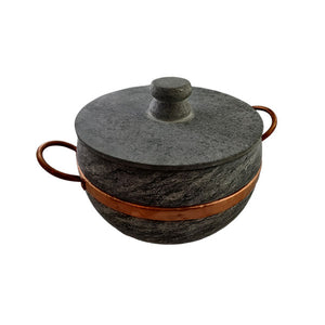Stone Pot 2,7L with Lid