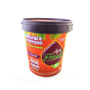 Acai Fresh Natural and Creamy with Guarana Extract (frozen) | Acai Natural com Extrato  de Guaraná (congelado)