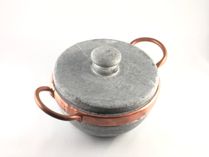 Stone pan - with lid 800ml