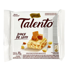 Talento Chocolate With Dulce de Leche | Chocolate Talento Doce de Leite