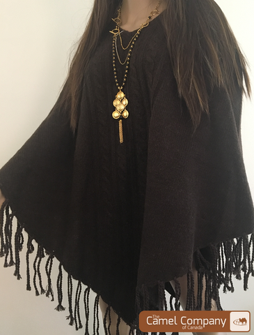 Yak Wool Poncho(only turtle neck available)