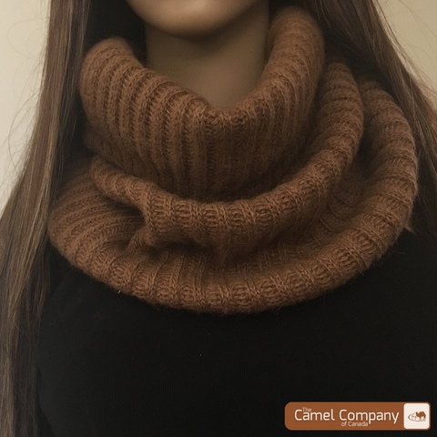 Camel Heal Infinity Scarf
