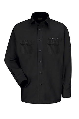 boys of new york Work Shirt