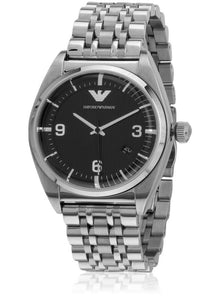 Emporio Armani Classic Analog Black Dial Men's Watch - AR0369