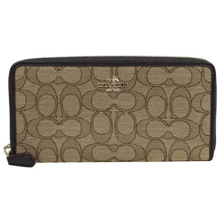 Accordion Zip Wallet (Coach F54633) Womens Wallets Coach