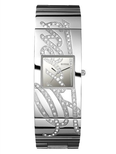 Guess Stainless Steel Swarovski Watch U13552L1 Mens Watches Guess