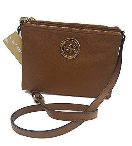 Michael Kors Fulton Acorn Crossbody Bag Leather (35T6Gftc7L) Womens Handbags Michael Kors